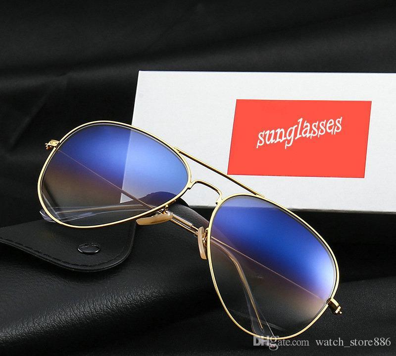 233d989a0c Compre Excelente Marca Ray Gafas De Sol Polarizadas Hombres Mujeres Gafas  De Sol Montura Metálica Gafas De Conducción Protección UV400 Anteojos Con  Caja Y ...
