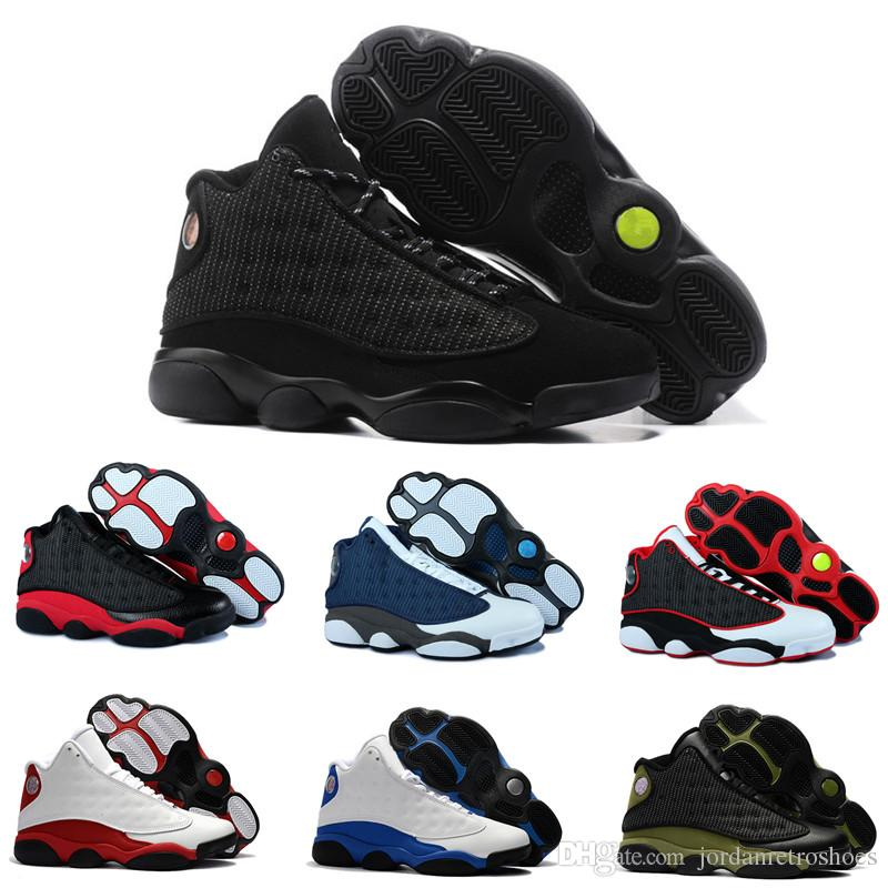 4c9d898a6b3ff0 Best Quality 13s Men Basketball Shoes 13 Bred Flints History Flight  Altitude XIII Women Sport Shoes Designer Athletics Sneakers US Size 7 13  Basketball ...