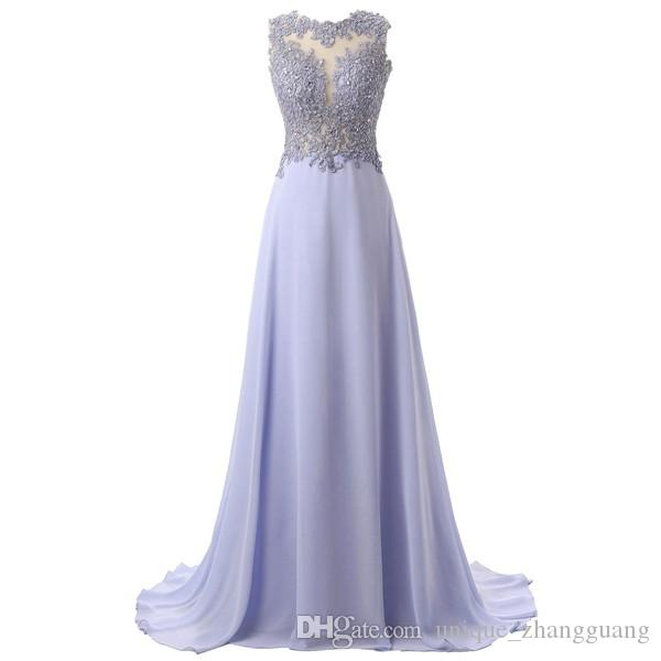 a2f0e20d245 Callmelady Prom Dresses 2019 Long Keyhole Sheer Neck Elegant For Women  Formal Gowns Party With Lace Appliques   Beading Un 1 White Prom Dresses  Plus Size ...