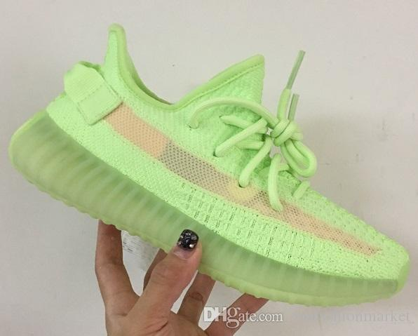 best service 51e72 67397 2019 Green v2 700 big size sneakers 36-48 static hyperspace ture form trfrm  v2 clay grey orange v3 lace up designer shoes with box