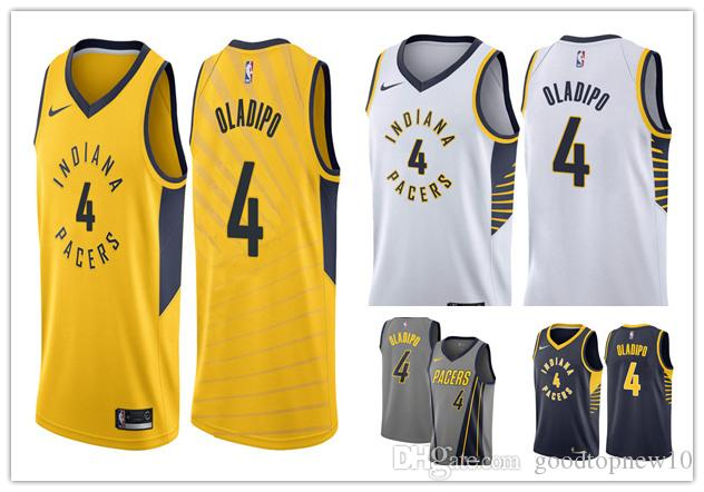 buy online bd4f4 e9cd3 2019 new Victor 4 Oladipo men new Indiana basketball jersey Pacers Atlanta  Swingman City Earned Edition