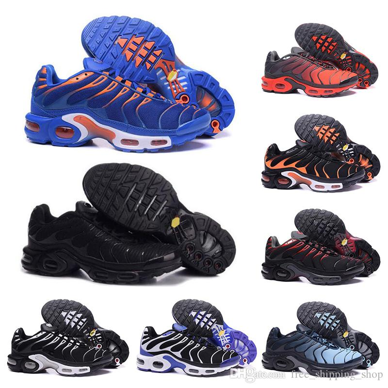 nike air max TN shoes Qualité TN Hommes Chaussures De Course Triple Noir Rouge Bleu Respirant Mesh Chaussures Homme Tn Sport Sneaker En Plein Air