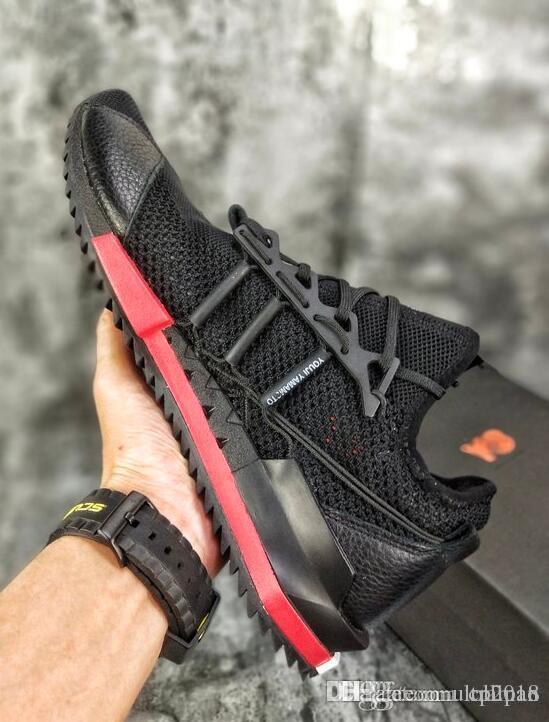 af5e04eeadf 2018 New TOP Y-3 Harigane Primeknit Yohji Run Sneaker Y3 Alethtic Luxury  Shoe Mens Running Shoe