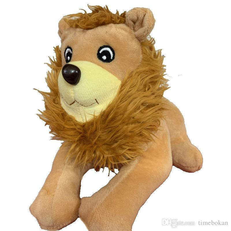 The Lion King Plush Toys kawaii Soft Cuddly Stuffed Animals Funny Toy Doll for Wedding Birthday Party Christmas Decoration