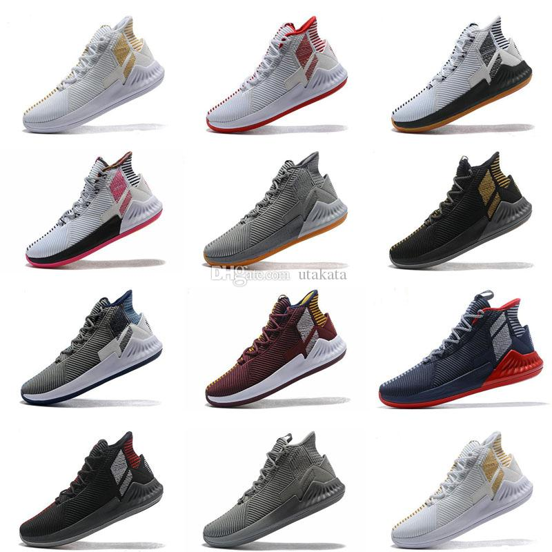 4f19791a9e2 D Rose 9 Basketball Shoes Mens Man Brown Derrick Rose 9s Designer Runners  2019 Luxury Classis Sport Boots Training Sneaker Shoe Sale Discount Shoes  Online ...