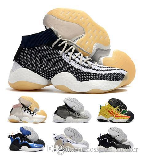 b7752156a Air Crazy Byw I Socks Basketball Shoes Mens Black Pharrell X Ambition PK  Designer Skateboard Fly Line Zapatos Trainer Tennis Shoe Sneakers NZ 2019  From ...