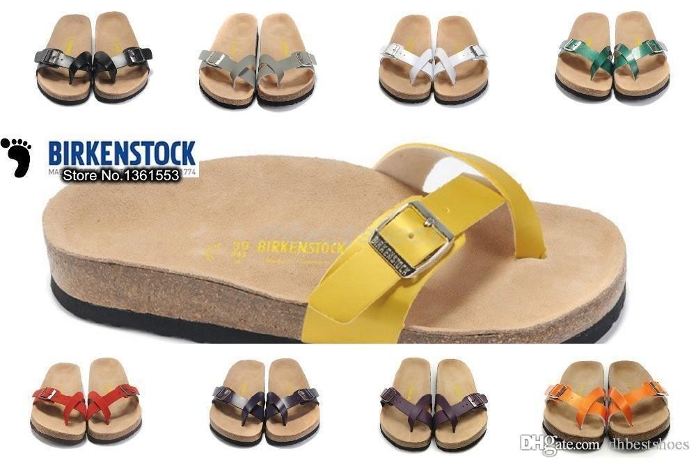 WomenSummer 100High Slippers New Hot Flip Quality Birkenstock Sandal Platforms Flops Casual Female For 35LAq4jR