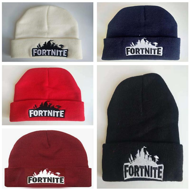 2019 Game Fortnite Beanies Winter Hats Unisex Embroidery Knit Beanies  Battle Royble Hip Hop Streetwear Caps Men Women Outdoor Sports Skiing Caps  From ... dbb3e400349