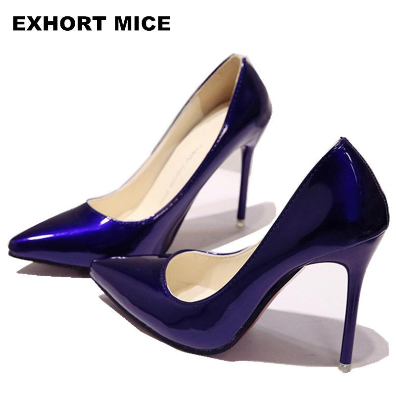 b9e88acff920 Designer Dress Shoes 2019 New Fashion High Heels Women Pumps Thin Heel  Classic White Red Nede Beige Sexy Prom Wedding Blue Red Wine Mens Leather  Boots Mens ...