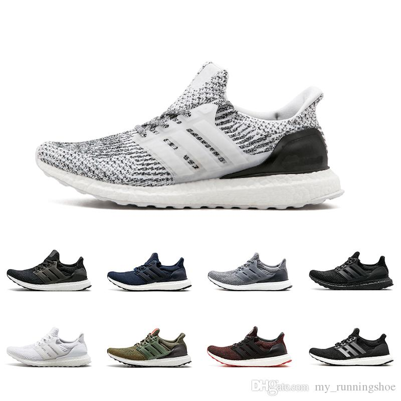 buy popular d3ab5 6c1ba 2019 New Arrival Ultra Boost 3.0 4.0 Running Shoes Men Women Triple Black  White CNY Oreo Blue 3.0 Primeknit Sports Sneakers From My runningshoe, ...