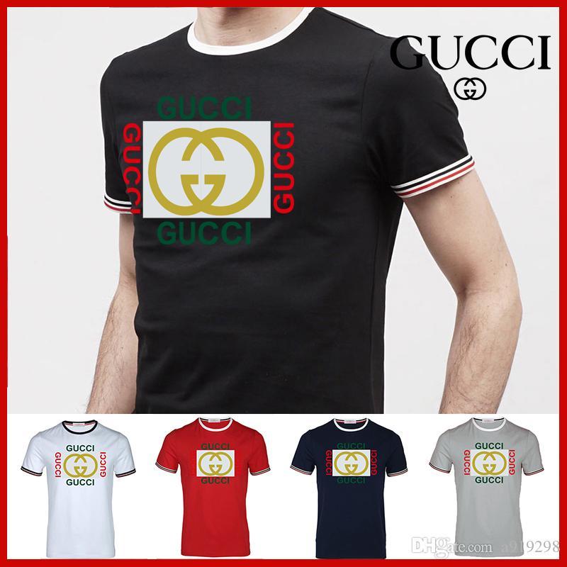 0a7bc359 brand summer t shirt men's casual short sleeve cotton tops tees print men t  shirt hip hop male T-shir