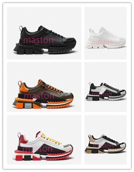 2020 2019 D Super King Sneakers Sorrento Luxury Designer Casual Scarpe piattaforma Donne Trainer scarpe in gomma inferiore newd050 #