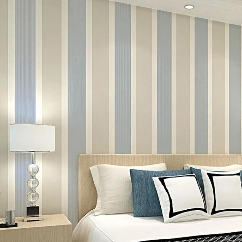 China Wholesale Modern Striped Wallpaper 3d Living Room Decor Wide Stripes  Wall Paper Bedroom Decoration Mural Behang Ez197 Xp Wallpapers Yellow  Wallpaper ...