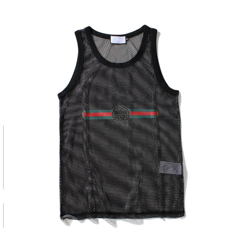 Men Tank Top Mens Sport Bodybuilding Brand Gym Clothing Designer Women Vests Tee Luxury Summer Tops Size M-XXL