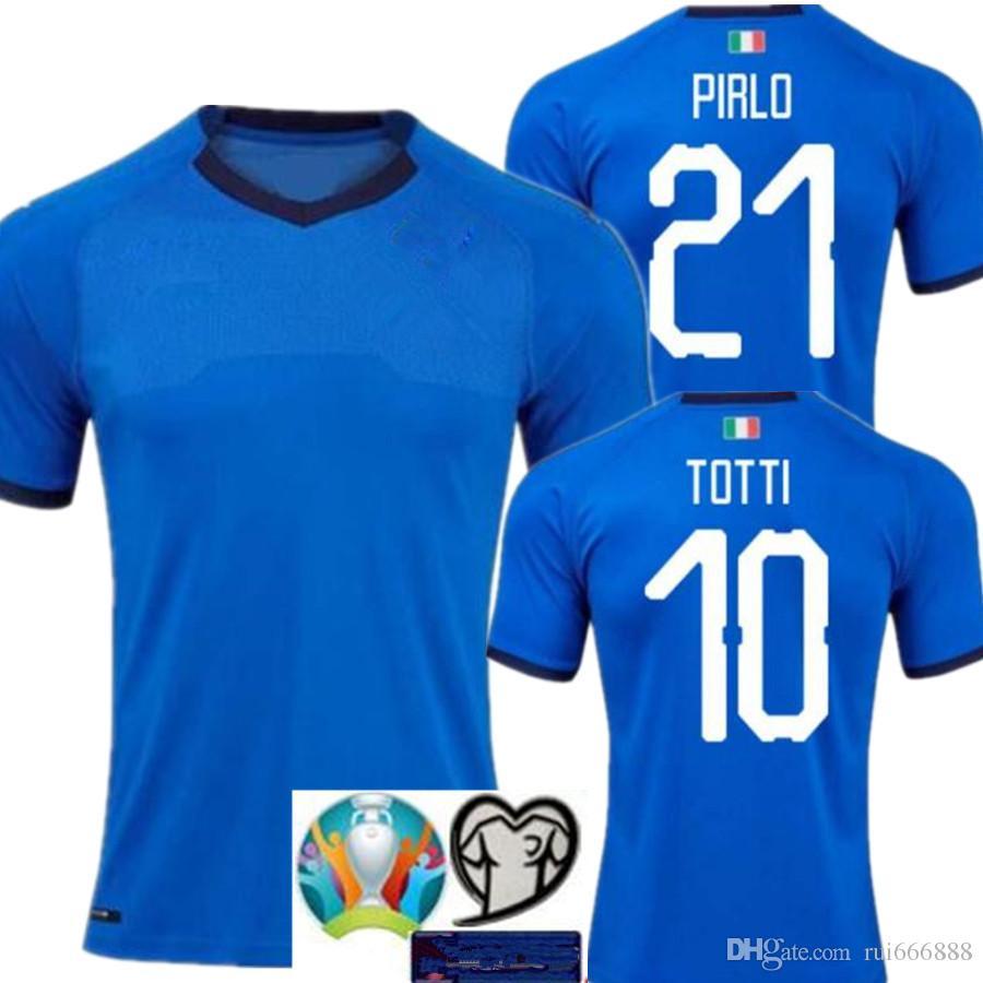 880b5442e3f 2019 Camisetas De Fútbol De Italia 2018 CHIELLINI INSIGNE Camiseta ...