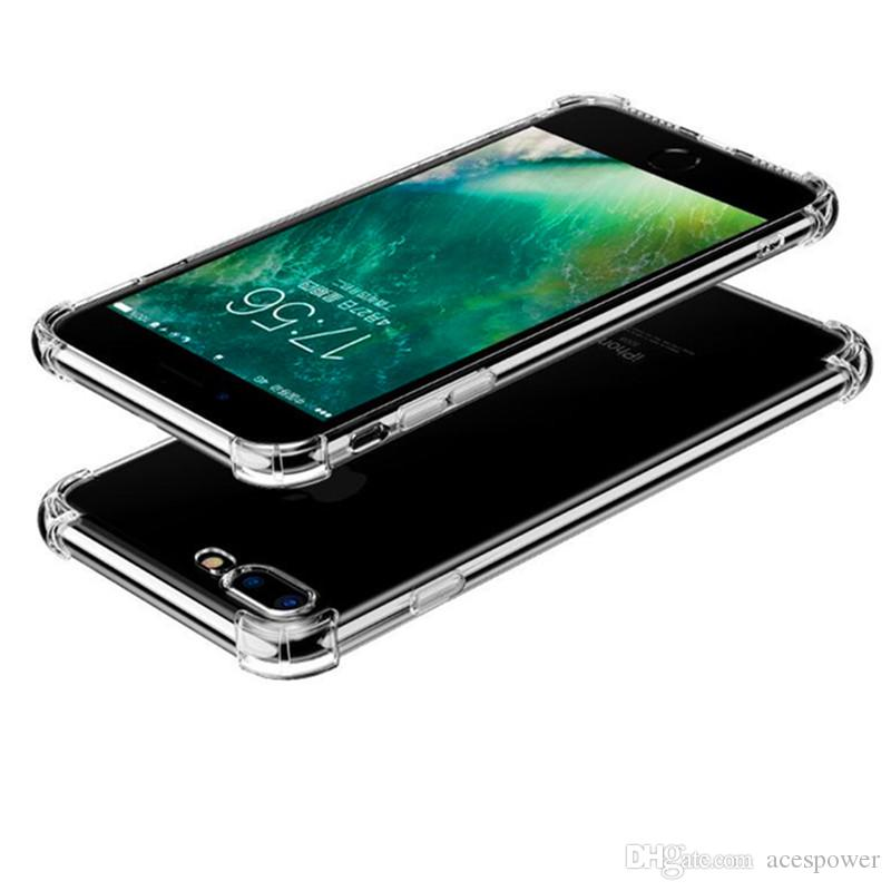 1.5mm TPU Cases Shock Absorption Soft For Iphone 12 Mini 11 Pro XS MAX XR 8 7 6s Plus se
