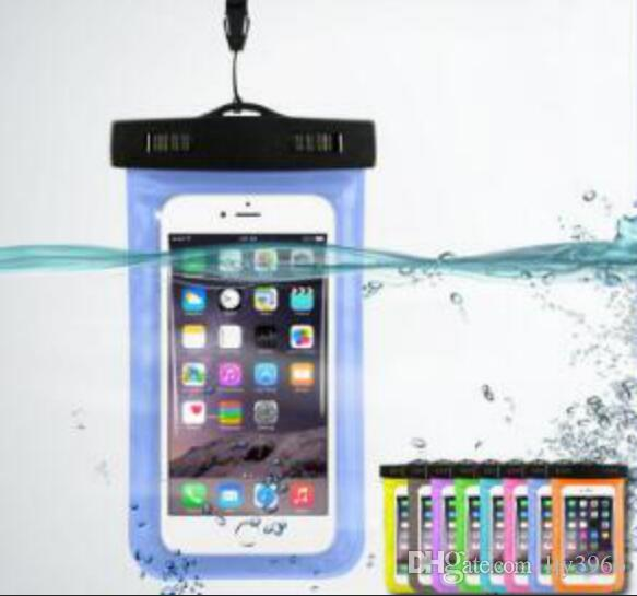 HOT Waterproof Bag Water Proof Bag armband pouch Case Cover For Universal water proof cases all Cell Phone Free shipping
