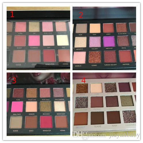 A qualidade NUDE beleza 18 Cores Paleta Da Sombra NUDE Rose Gold Texturizado Paleta de Maquiagem Sombra de Olho Paleta De Beleza Matte Shimmer