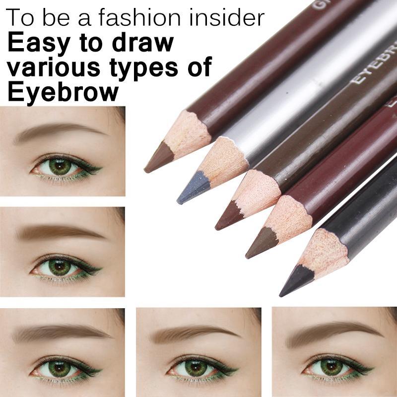 New Eyebrow Pencil Waterproof Longlasting Makeup Tool Natural Long