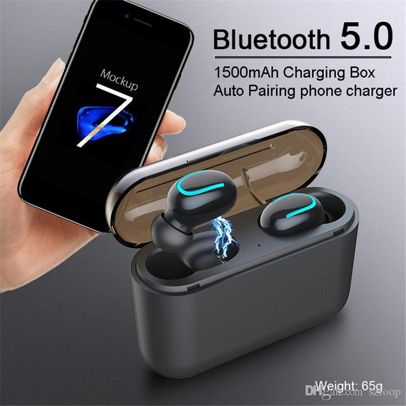 Q32 tws Bluetooth 5.0 Earphones TWS Wireless Headphones Blutooth Earphone Handsfree Headphone Sports Earbuds Gaming Headset Phone PK HBQ