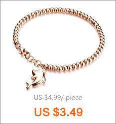 Braccialetti di fascino color oro rosa vintage Lokaer le donne intarsiato zircone sempre catena Groove Rolo con chiusura a strappo LGS855
