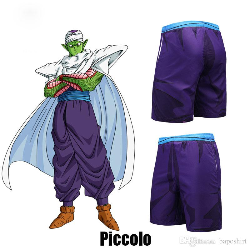 d36bde02c87e5 2019 Dragon Ball Piccolo Printed Beach Pants Summer New Fashion Casual Tide  Brand Shorts Size S 3XL Hot Sale From Bapeshirt, $20.31   DHgate.Com