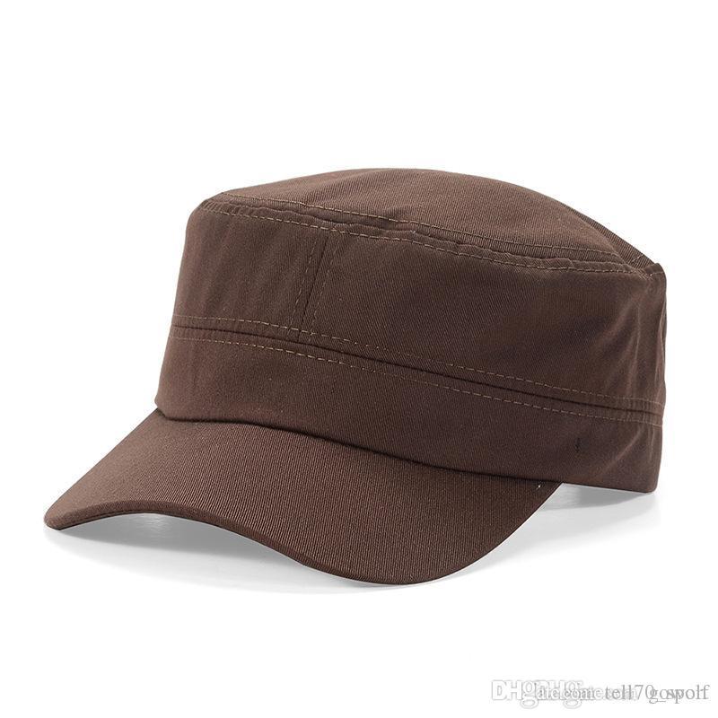 2019 Wholesale Retro Vintage Flat Top Gorras Baseball Caps Bucket Hat  Casquette Snapbacks Designer Hats Dad Hat Women Men Fitted Hats From  Tell70 sport 04489fab76c