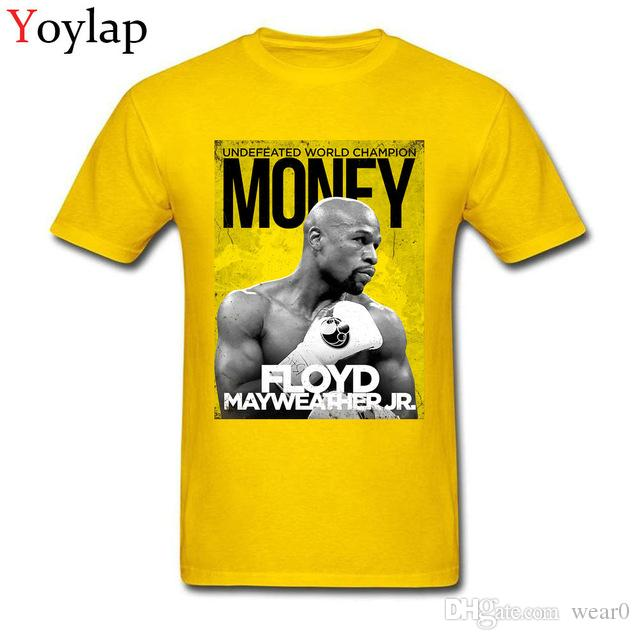 1a7fcacce 2019 men s designer clothing tshirt Custom Money Team FLOYD MAYWEATHER Cool T  shirt For Man Fashion Street Wear Tops Tees plus size