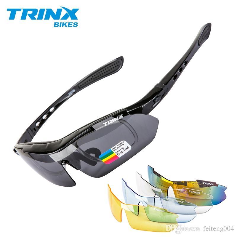 8a6acdd027 TRINX Cycling Glasses Polarized Cycling Eyewear Sports Men ...