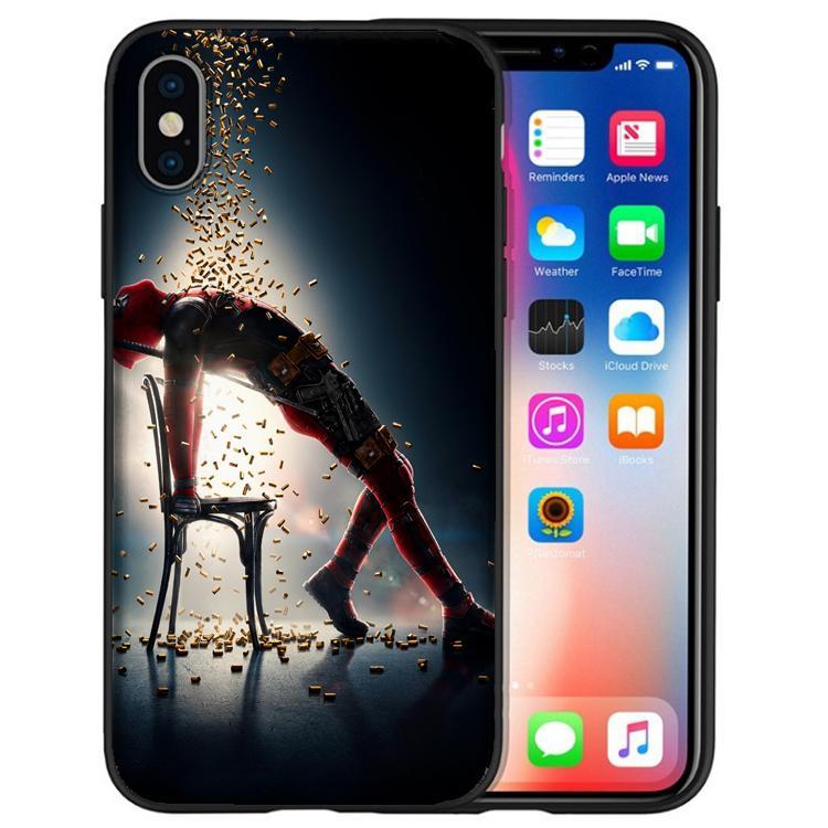 deadpool iphone xs case