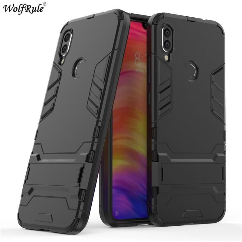 pretty nice 8b1df b1f1b Xiaomi Redmi Note 7 Case Pocophone F1 Redmi 6a 5 Plus 4a 5a Tpu & Pc Bumper  Phone Case For Xiaomi Redmi Note 7 Cover Mi A2 Lite