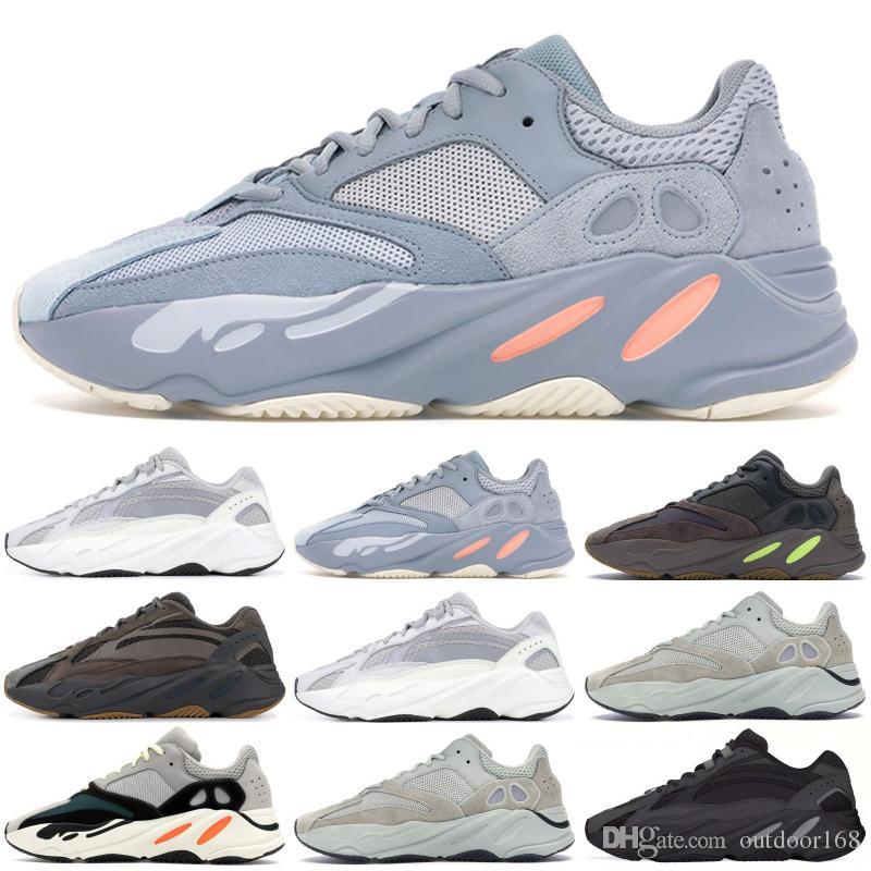 buy online 3faae 7a80c Scarpe Da Calcio Online Nuovo 700 V2 Static V1 Mauve Solido Grigio 700  Scarpe Da Corsa Runner Design Kanye West 700 Uomo Donna Scarpe Sportive  Sneakers 36 ...