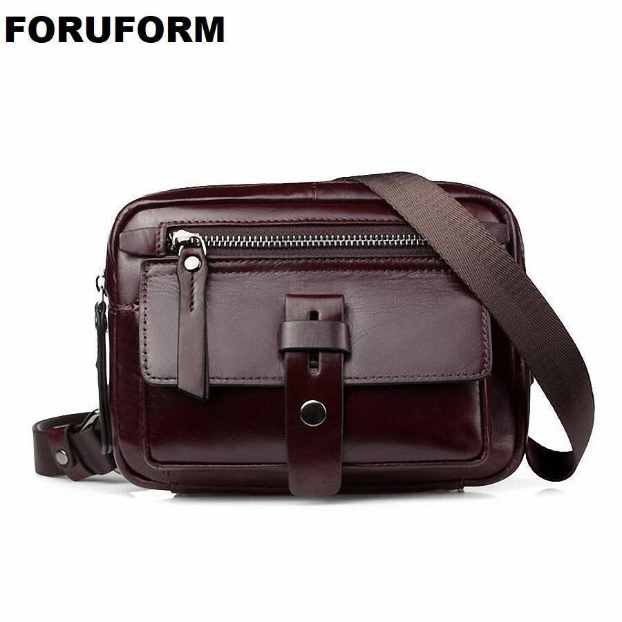 a5606f45569 Genuine Leather Men Bag Fashion Leather Crossbody Bag Shoulder Men Messenger  Bags Small Casual Designer Handbags Man Li 2162 Leather Tote Leather Tote  Bags ...