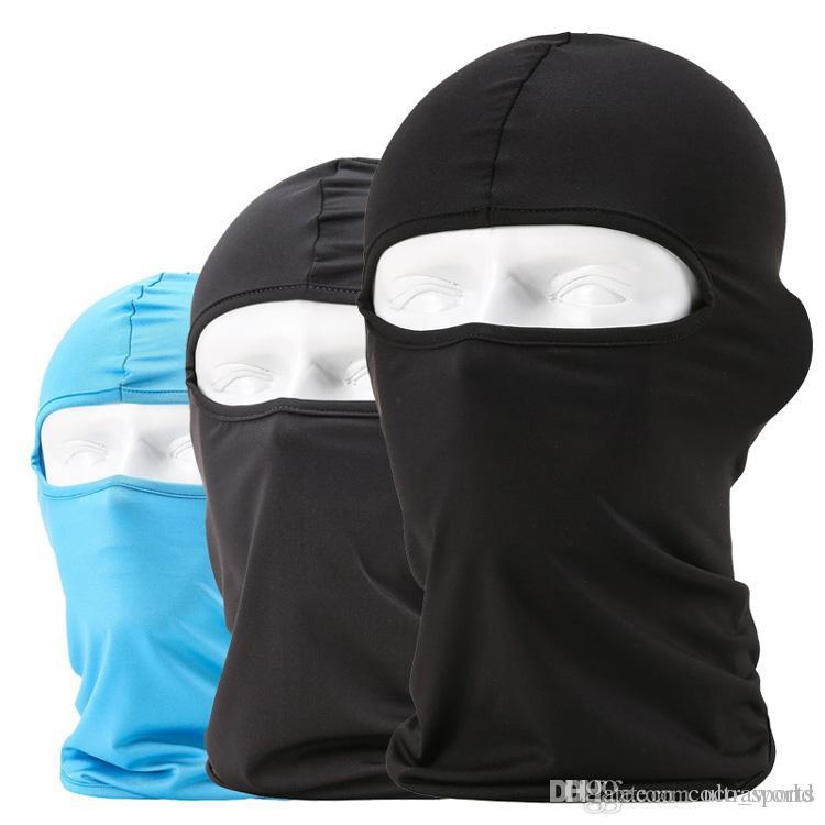 2019 Windproof Cycling Mask Hat Thermal Face Mask Neck Warmer Full Face  Riding Mask Cap Motor Anti Dust Lycra Fabric 12 Hot Colors From  Coco sports 73a15fad9126