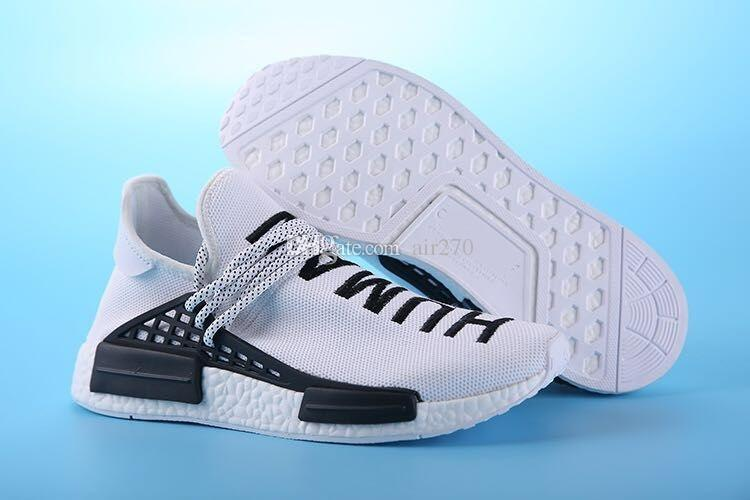 6d48ce7f5 2018 97 Brazil Olympic Runner HumanRace Pharrell S Williams Fashion Running  Shoes Top Human Race Pharrell X Sports Sneakers Blue Shoes Clogs For Women  From ...