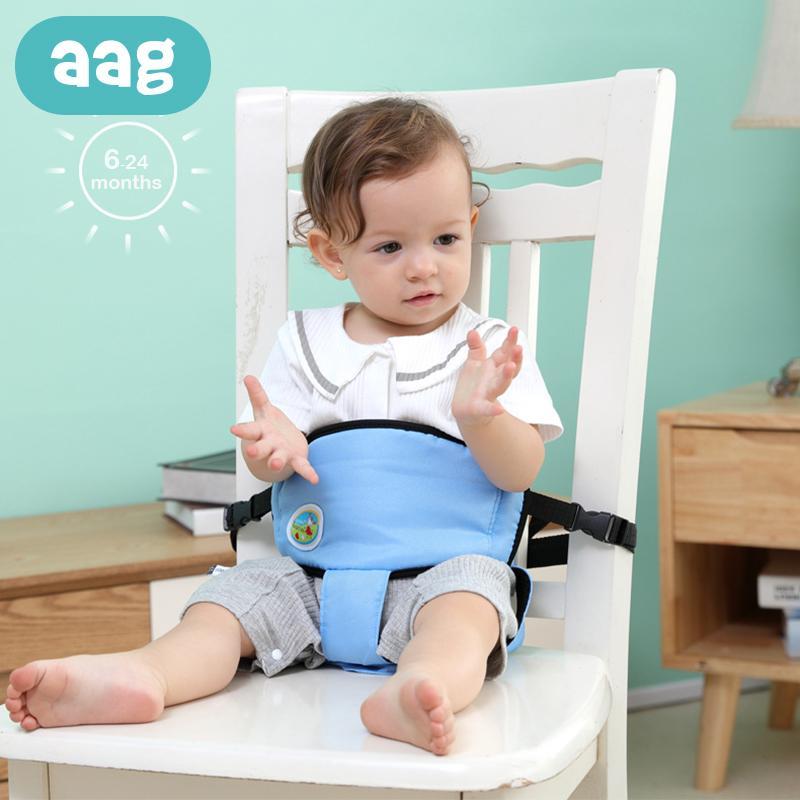 Hoher Sicherheitsgurt Stuhl Harness Belt Fütterung Baby Produkt Tragbare Babytrage Dining Kindersitz Sitz EDI2H9