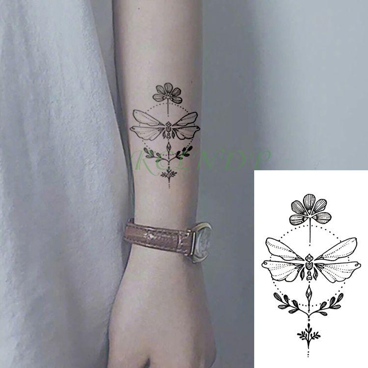 Compre A Prueba De Agua Etiqueta Engomada Del Tatuaje Temporal