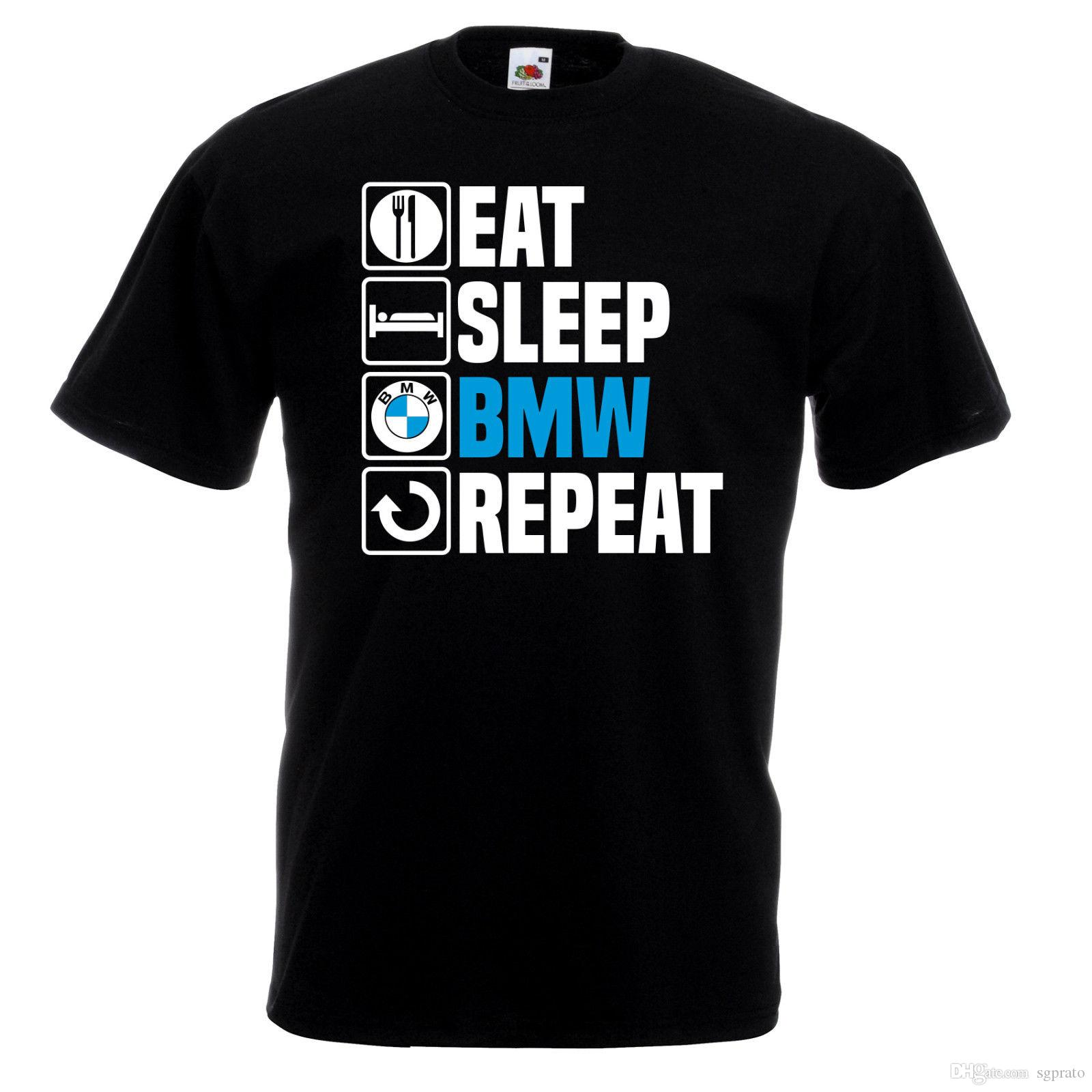Eat Sleep Top Tee Repeat T Shirt Funny Dad Grandad Birthday Gift Top Ideas Cotton Shirts White T Shirts From Sgprato, $10.52| DHgate.Com