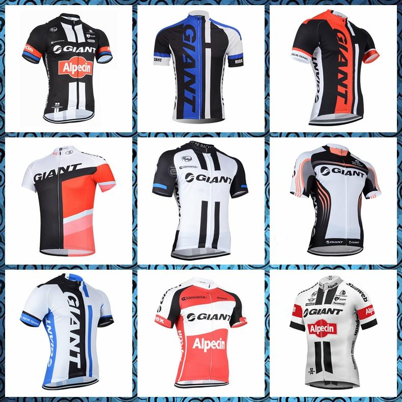 GIANT Cycling fashion Short Sleeves Quick drying jersey Breathable Comfortable men summer Top brand free delivery 52702