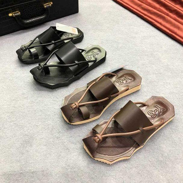 0fb2169b4 2019 New Summer Flip Flops For Men Sandals Fashion Comfortable ...