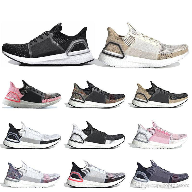 huge selection of 98b33 e8149 Ultra boost 19 men women running shoes Cloud white black Oreo navy blue  ultraboost 5.0 mens trainers sports fashion luxury designer sneakers