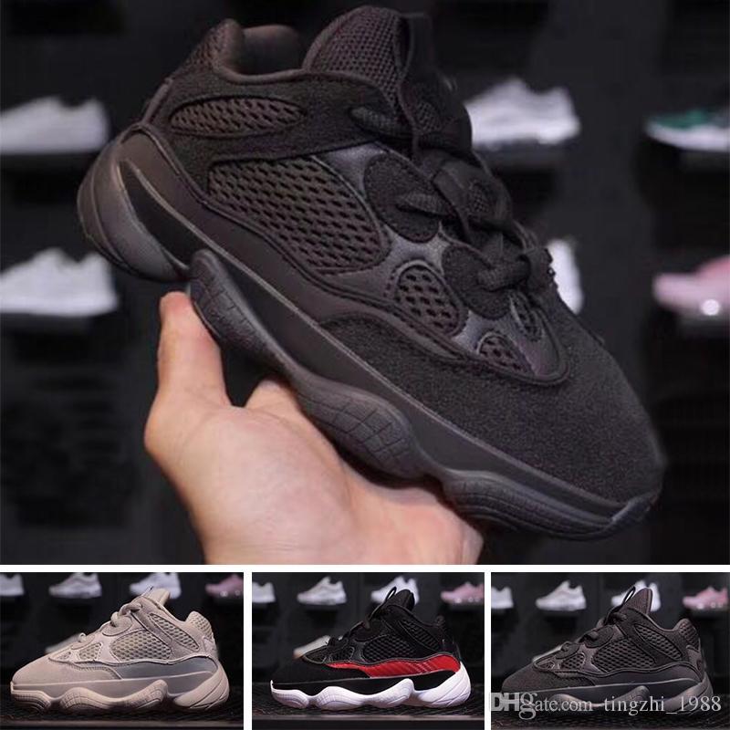 46ea4ea93c9ebc Infant Baby 500 Blush Desert Rat Kanye West Kids 500s Runner Sneakers  Running Shoes Designer Children Boy Girls Athletic Outdoor Boots Gym Shoes  Kids Good ...