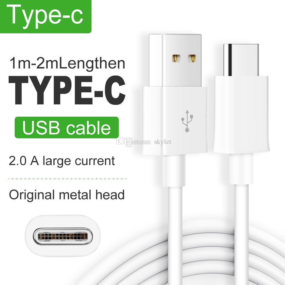 USB C TYPE C USB Cable Data Charging Charger Cable Cords for android  Cellphones Samsung S10 NOTE 9 LG Stylo 4 Moto G7 Power