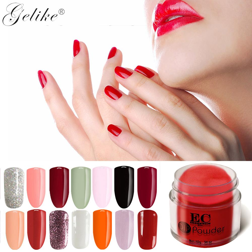 Gelike 10g/Pcs Dip Organic Nails Acrylic Powder No Primer No Uv ...