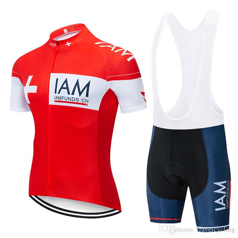 a2bcd2d84 2019 Summer IAM Cycling Jersey Sets Men s Style Breathable Cycling ...
