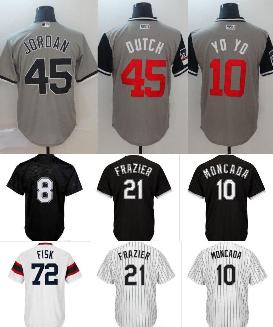 626c6079d 2019 Chicago Baseball Jersey 8 Bo Jackson 45 Michael 35 Frank Thomas ...
