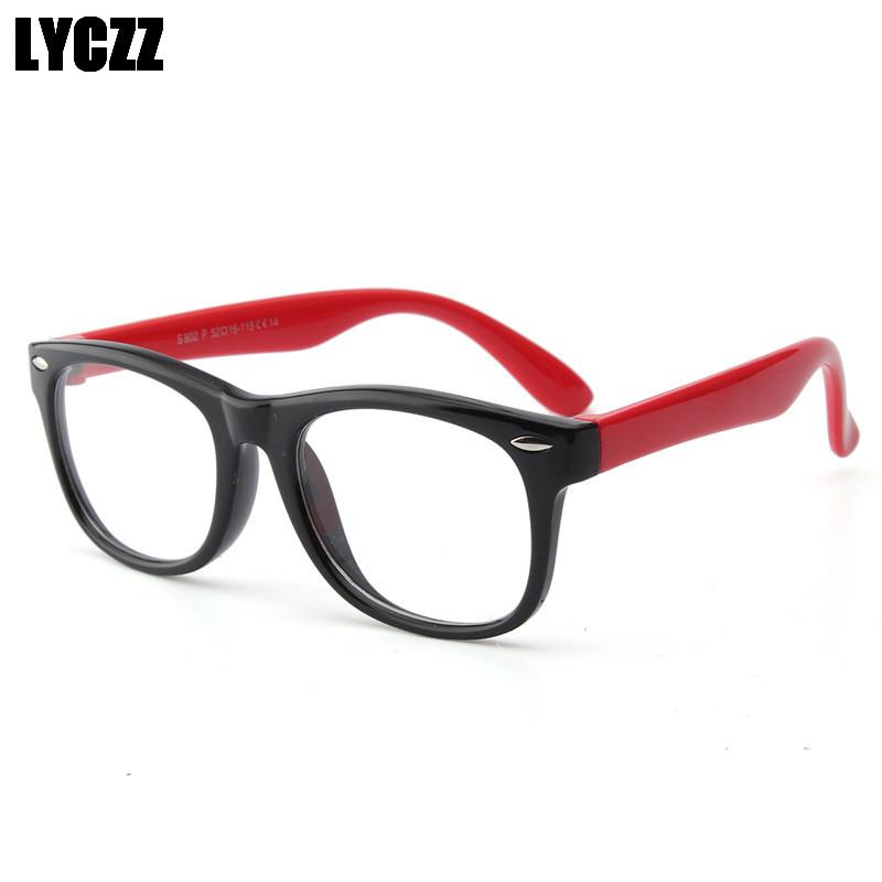 4aa2201bea LYCZZ Children s Optical Eyewear Silicone Glasses Frame Vintage ...