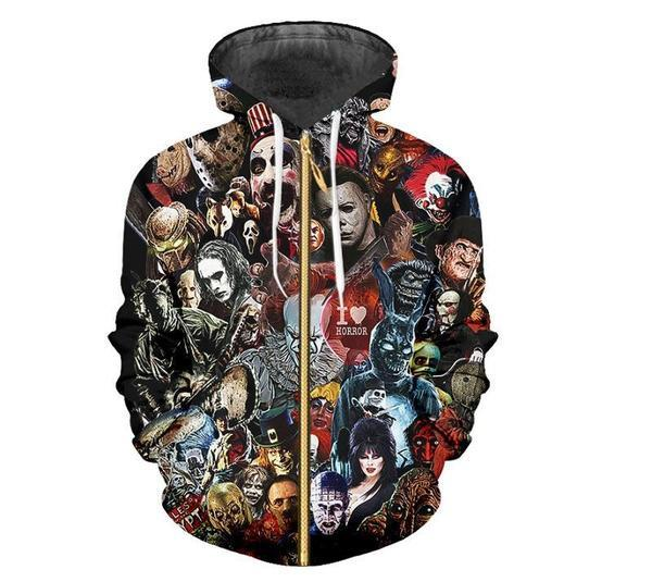 YFFUSHI 2019 New Men Hoodies 3D Print Hip Hop Hoodies Men Coat Jacket Cool Sweatshirts Male Oversized 5XL 3d Pullover