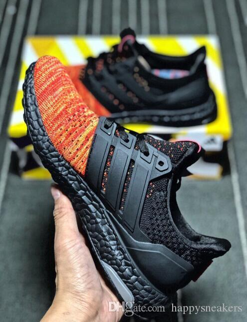 8fb62933 Ultra Boost 4.0 UB Man Women Running Shoes Triple Black White Camo Blue  Gray Multicolor Knit Sneakers Ultra Boost 4.0 Online with $99.38/Piece on  ...
