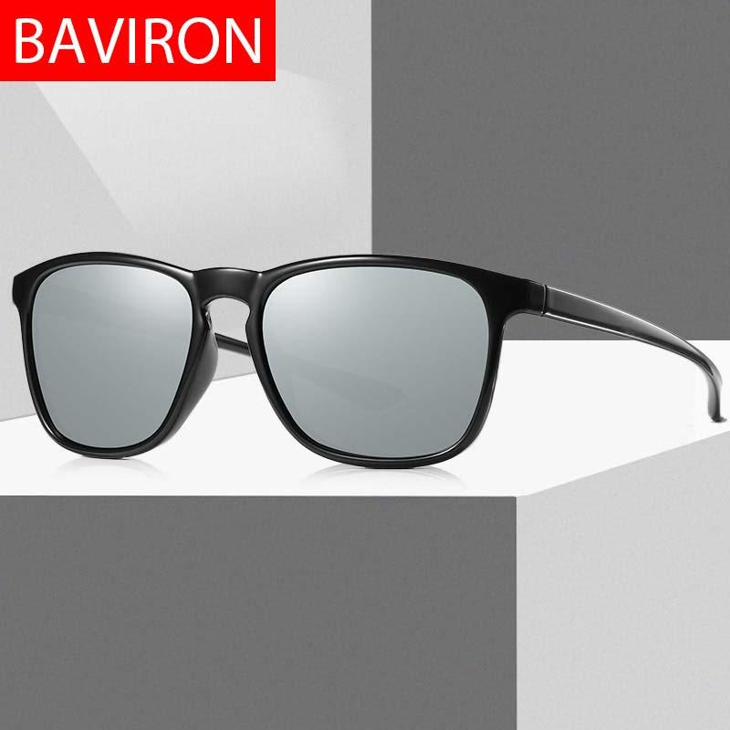 4e95579da5 BAVIRON Square Men Sunglasses Polarized Women Designer Sunglasses Men Sun Glasses  Vintage Influence Gafas 100% Uv400 Drop Ship Best Sunglasses Dragon ...
